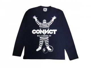 CONVICT ロングTシャツ NAVY