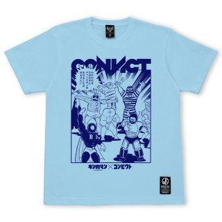 キン肉マン×CONVICT Tシャツ 7人の悪魔超人 SAX