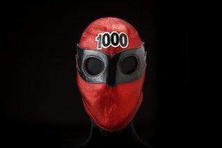 スカイマン試合用マスク エル・アホ〜メ会員証付き 追加受注販売