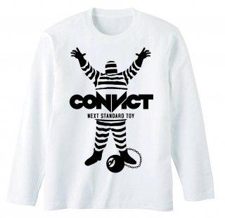 CONVICT ロングTシャツ WHITE