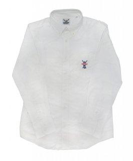 CONVICT B/Dシャツ WHITE