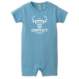 CONVICT ベイビーロンパース AQUA BLUE