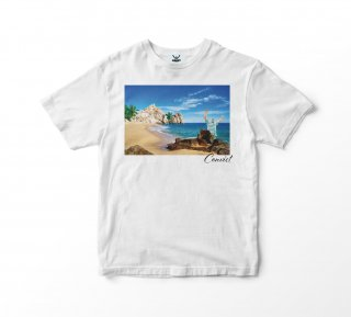 CONVICT フォトプリント Tシャツ&ステッカー WHITE