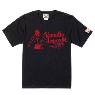 ロペス×コンビクト コラボレーションTシャツ BLACK
