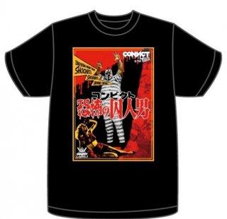 CONVICT TERROR Tシャツ BLACK