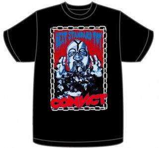 CONVICT KAIJU Tシャツ BLACK ver.2