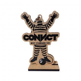 CONVICT 木製キーホルダー