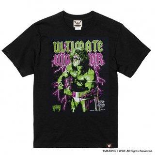 アルティメット・ウォリアー×CONVICT コラボレーションTシャツ BLACK