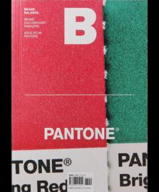 MAGAZINE B No.46 PANTONE