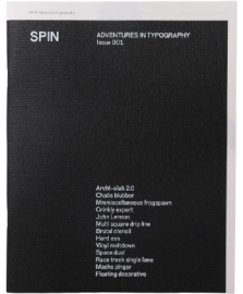SPIN ADVENTURES IN TYPOGRAPHY Issue 001
