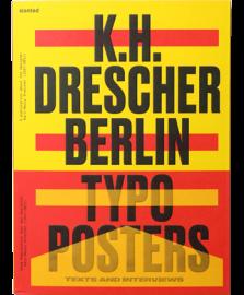 【再入荷】K.H. DRESCHER Berlin Typo Posters, Texts, and Interviews
