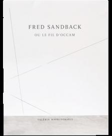 FRED SANDBACK: OU LE FIL D'OCCAM