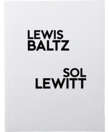 【再入荷】Lewis Baltz / Sol LeWitt