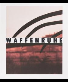WAFFENRUHE