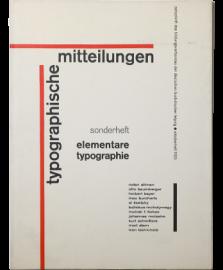 Ivan Tschichold: Elementare Typografie