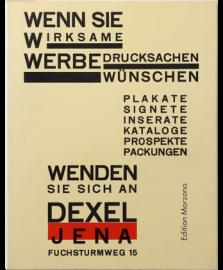 Neue Reklame by Walter Dexel
