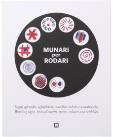 Munari For Rodari Winding Signs, Skewed Marks, stains, colours and scribbles