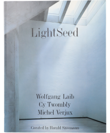 LightSeed : Cy Twombly, Wolfgang Laib, Michel Verjux