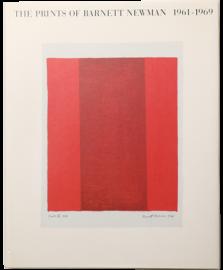 The Prints of Barnett Newman 1961-1969