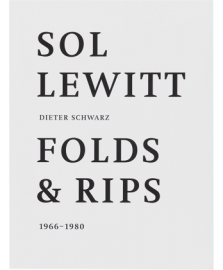 FOLDS AND RIPS 1966-1980 by Sol Lewitt