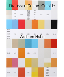 Wolfram Hahn Draussen Dehors Outside