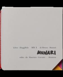 Bruno Munari - Libro Illeggibile 'mn 1'