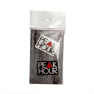 'PE▲K HOUR' Metal Pins
