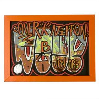 'OVERDOSE' Framed Sticker No.3