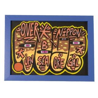 'OVERDOSE' Framed Sticker No.1