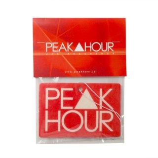 'PE▲K HOUR' Air Freshener [RED]