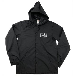 'PE▲K HOUR-Reflector' 330d-Nylon Hood Jacket [BLACK]