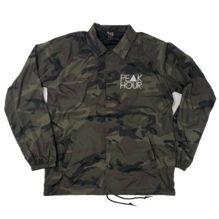 'PE▲K HOUR-Reflector' Raglan Sleeve-Nylon Jacket [CAMO]