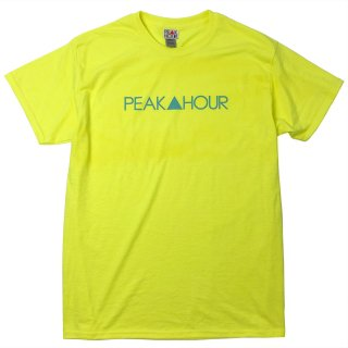 'PEAK▲HOUR' T-Shirt [NEON YELLOW]