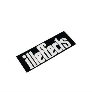 ''illeffects'' Vinyl sticker