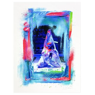 [予約限定販売] 鈴香音色×グレート・ザ!歌舞伎町×KANE 「三密」Giclee Print Poster