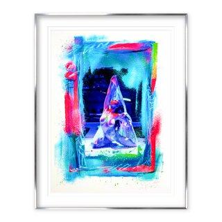 [予約限定販売] 鈴香音色×グレート・ザ!歌舞伎町×KANE 「三密」額装 Giclee Print Poster