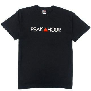 'PEAK▲HOUR' T-Shirt [BLACK]