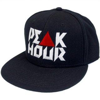 'PE▲K HOUR / 菱沼彩子 Model' Snapback Cap [BLACK]