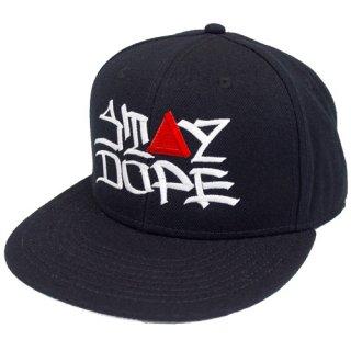 'ST▲Y DOPE / AMES Model' Snapback Cap [BLACK]
