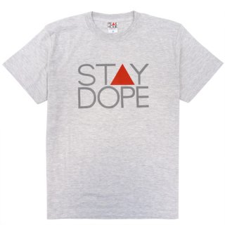 'ST▲Y DOPE' T-Shirt [ASH GRAY]