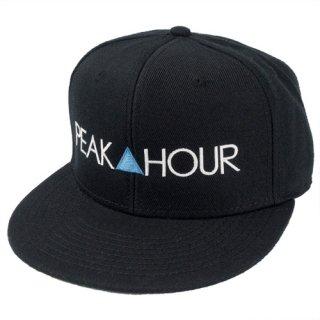 'PEAK▲HOUR BLUE' Snapback Cap [BLACK]