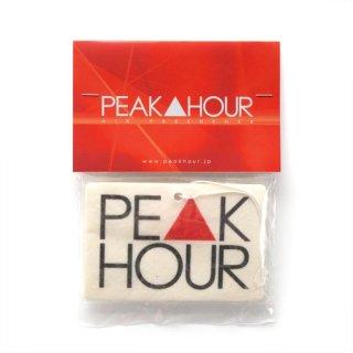 'PE▲K HOUR' Air Freshener [WHITE]