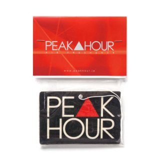 'PE▲K HOUR' Air Freshener [BLACK]