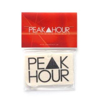 'PE▲K HOUR' Air Freshener [WHITE 2]