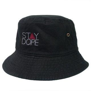 'ST▲Y DOPE-SHADOW' Bucket Hat [BLACK]