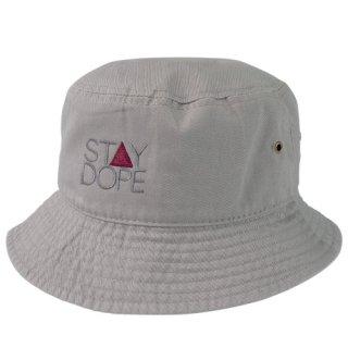 'ST▲Y DOPE-SHADOW' Bucket Hat [GRAY]