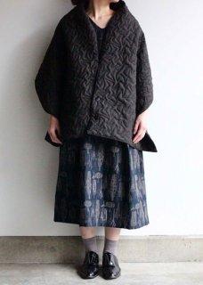 【TORI 1836】キルト鳥刺繍のストール