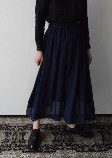 リネンギャザースカート