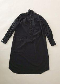 LONG NIGHT SHIRT(BLACK)