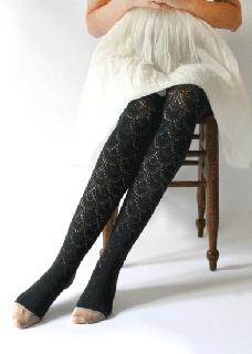 クリボテラ タイツ UROKO-lace